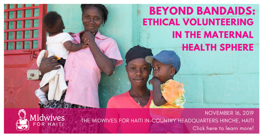 Beyond Bandaids: Ethical Volunteering in the Maternal Health Sphere